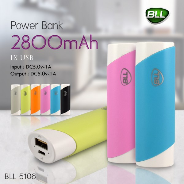 Bll-Powerbank-5106-1000mAh-พาวเวอร์แบงค์-แบตสำรอง