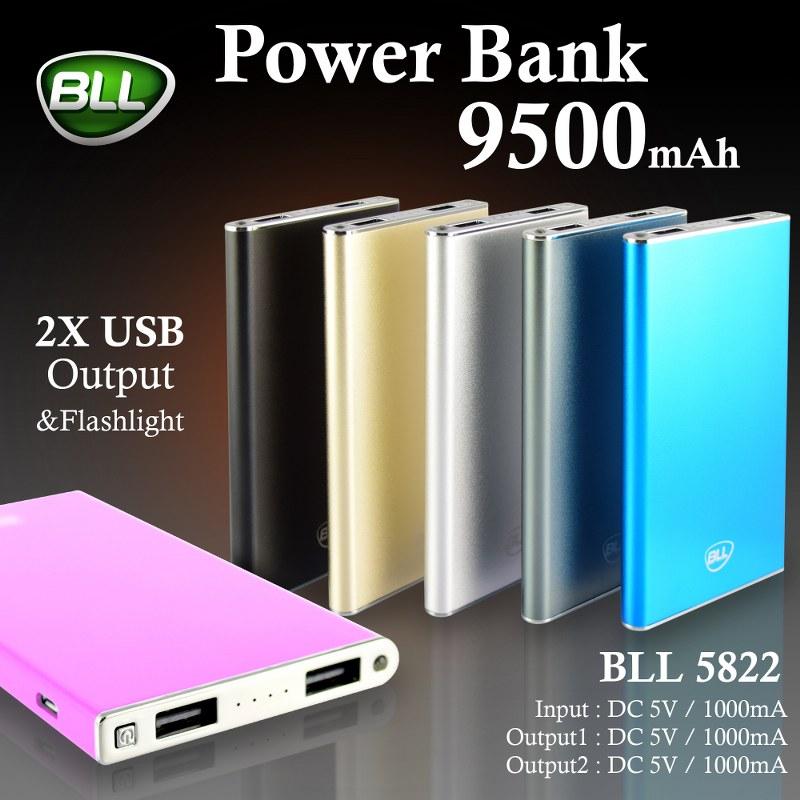 BLL Power Bank 5822-95000mAh-พาวเวอร์แบงค์-แบตสำรอง