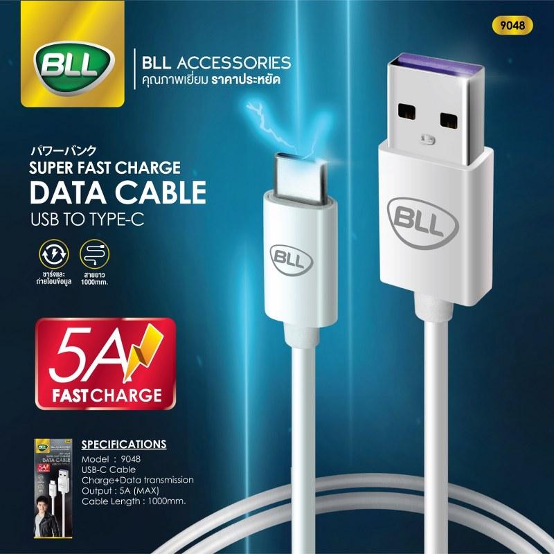 สายชาร์จ BLL 9048 Type C 5A Fast Charge