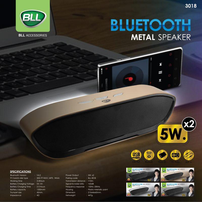 BLL ลำโพงบลูทูธ 3018 Bluetooth Speaker