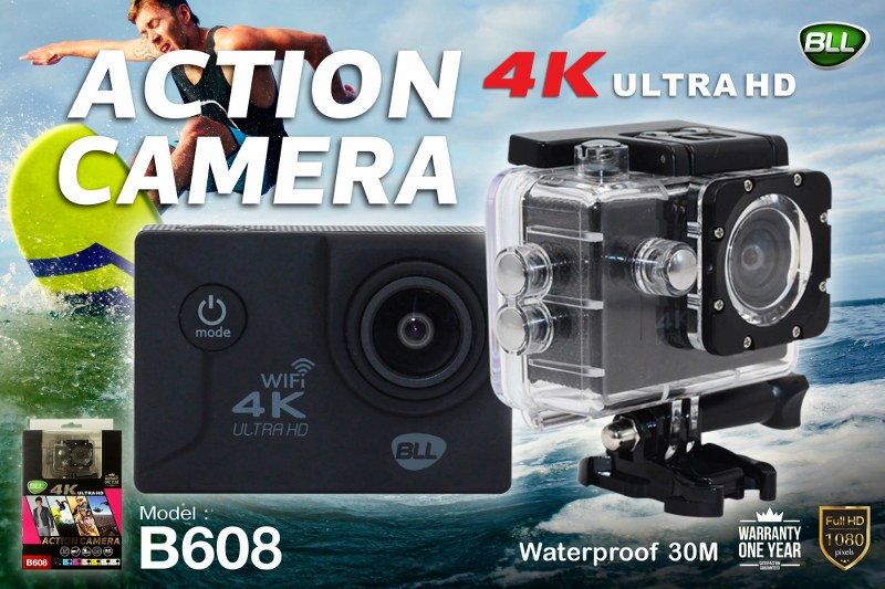 กล้อง Action Camera 608 เที่ยวทั่วไทย ตัวเดียวจบ