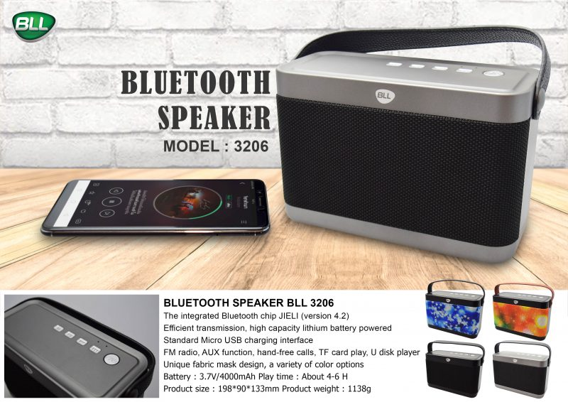 bll bluethooth speaker 3206 ราคาถูก ปลีกและส่ง
