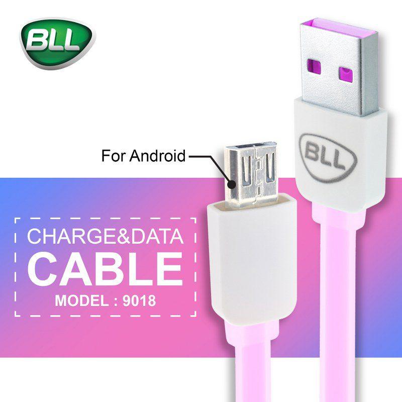 สายชาร์จ bll cable for android 9018 V8 ราคาถูก ปลีกและส่ง