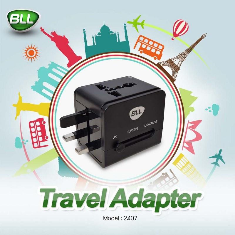 bll charger 2401 หัวชาร์จใช้ได้ทั่วโลก ถูกที่สุด ราคาปลีกส่ง-1