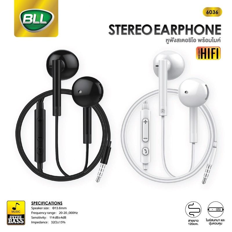 หูฟัง bll 6036 ใช้ได้กับ iphone และ andrioid