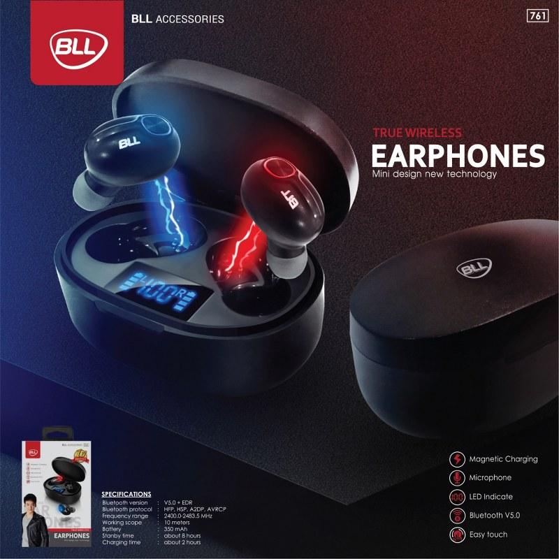 ใหม่ล่าสุด หูฟัง BLL761 true wireless earphones